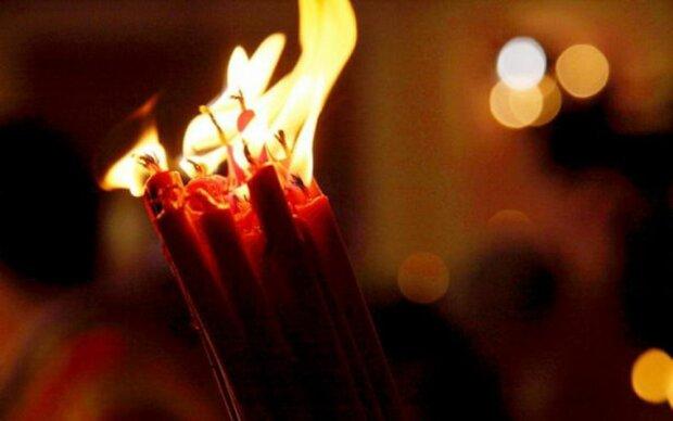 Великая суббота, свечи