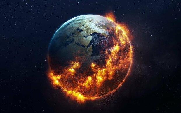 конец света армагедон астероид космос галактика вселенная