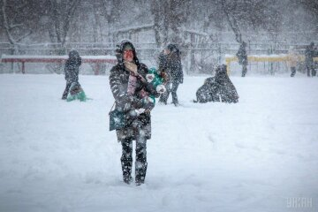 снег, непогода, зима