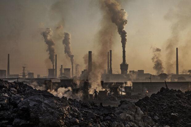 Дым, завод, экология