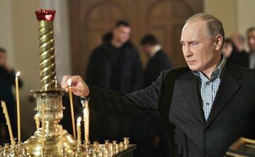Путин, церковь