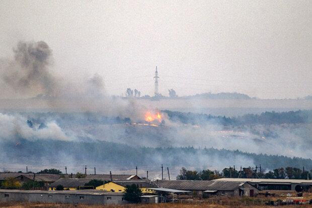 Донбасс в огне, масштабный пожар уничтожает все на своем пути: кадры с места катастрофы