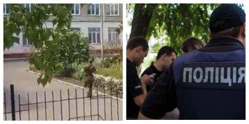 ЧП на территории украинской школы, слышны звуки выстрелов: первые подробности