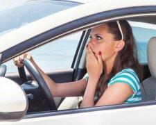 авто водитель девушка