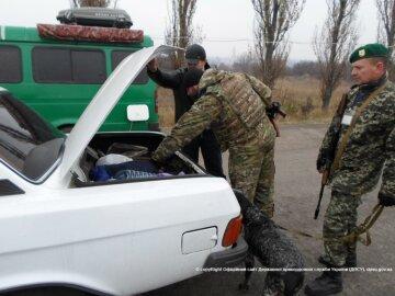 зона АТО КПВВ пограничники