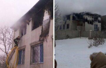 Бежала и не знала куда: в Харькове из горящего дома престарелых пропала пенсионерка, видео