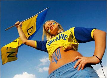 украинский флаг, победа
