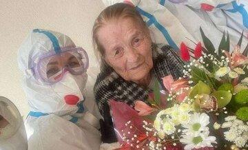 """100-річна українка вилікувалася від коронавірусу: """"на лікарняне ліжко потрапила вперше в житті"""""""