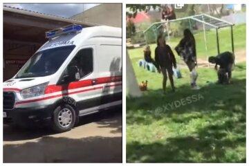 """Під Одесою 6-річна дитина напилася горілки, з'явилося відео: """"знайшов на могилі"""""""