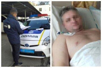 """Патрульні побили до втрати свідомості водія в Одеській області: """"залишився інвалідом"""""""