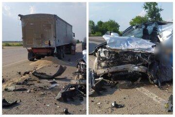 """Роковая авария на трассе Одесса-Киев, джип в смятку: """"За рулем был чиновник"""""""
