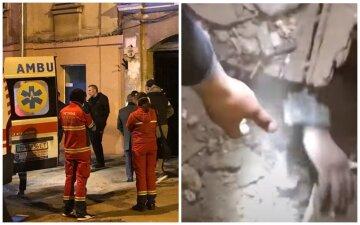 Вибух прогримів у житловому будинку в Одесі, під завалами опинилася сім'я: кадри масштабної НП