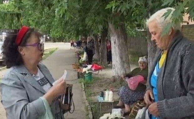 пенсии, пенсионеры, пенсионерки, бабушки