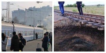 """НП на """"Укрзалізниці"""", кадри з місця: 154 пасажири опинилися у важкому становищі"""