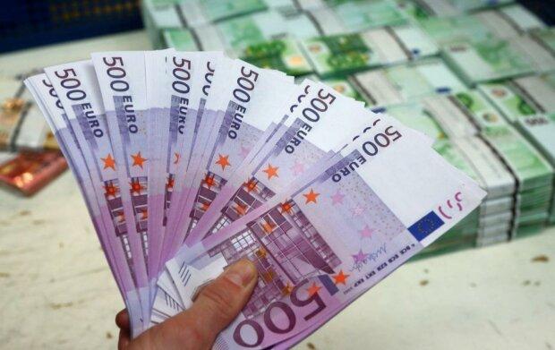 евро, деньги, банкноты