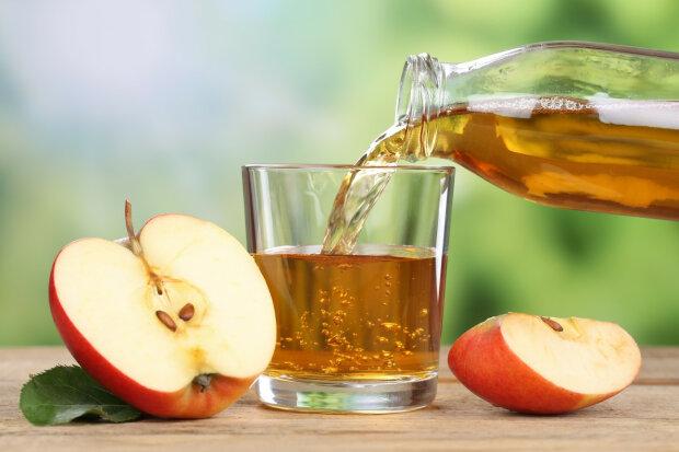 сок, яблоко, яблочный, стакан