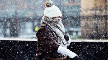 зима снег мороз холод