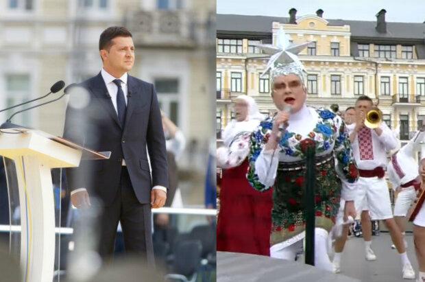 """Розбитна Вєрка Сердючка з мамою кинулися до Зеленського з кулаками: """"Час йти у президенти!"""""""