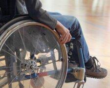 инвалид, коляска