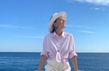 """Катя Осадча в міні-шортах осоромилася на яхті: """"Що з ногами?"""""""