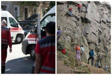 Ребенок упал на скалу с высоты 10 метров: первые детали ЧП