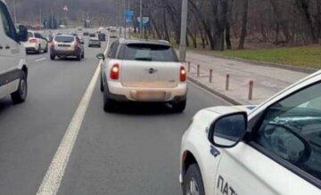 П'яний у мотлох водій поставив на вуха весь Київ: кадри з місця інциденту