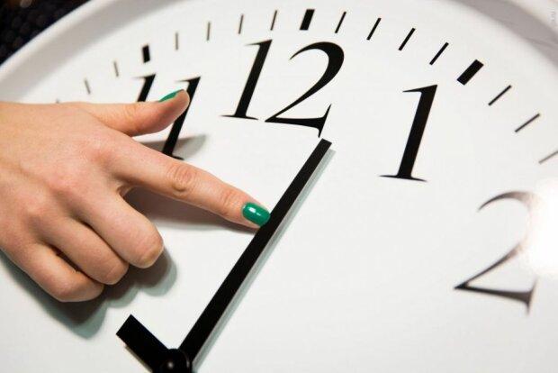 годинник, переведення годинників