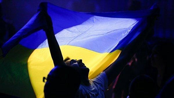 Украина-флаг