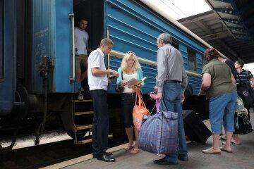 Укрзализныця, поезд, вокзал