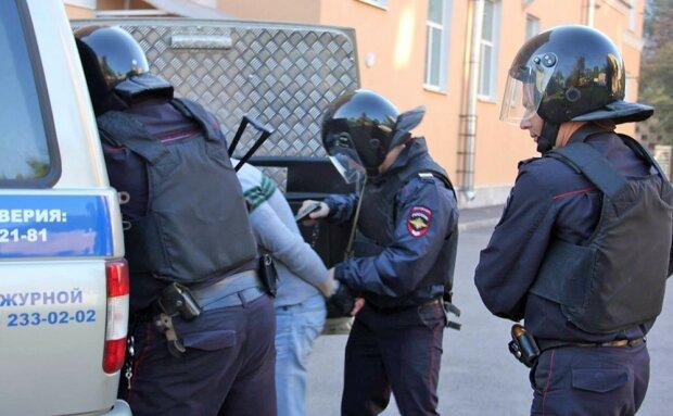 полиция россия задержание