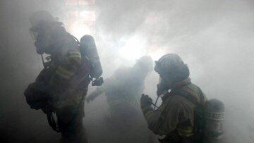 дым, пожарные