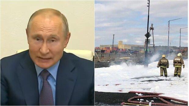 """""""А що робити?"""": Путін рознервувався через найбільшу екокатастрофу, ситуація """"як у Чорнобилі"""""""