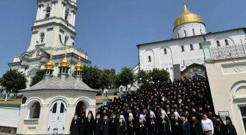 Понад 300 представників монастирів УПЦ з усієї країни зібралися в Почаївській лаврі