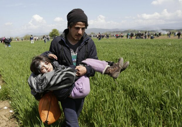 У Європі сталася масова бійка біженців