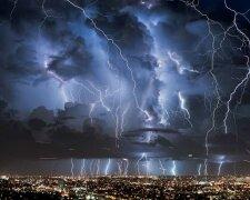 шторм, дождь
