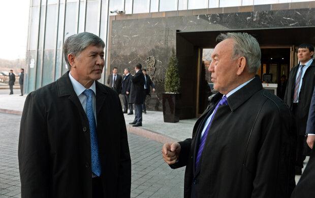 Нурсултан Назарбаев, Алмазбек Атамбаев, Киргизия, Казахстан