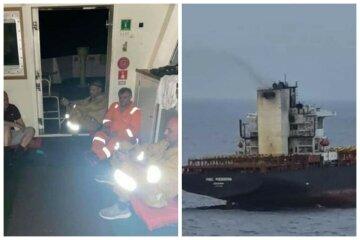Пожежа спалахнула на кораблі з українцями: вижити змогли не всі, деталі і кадри НП