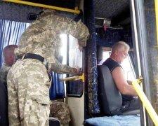 маршрутка, военный