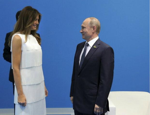 Меланья Трамп, Владимир Путин