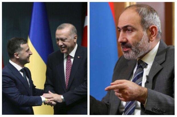 """Вірменія зважилася на помсту Україні після зустрічі Зеленського з Ердоганом: """"Ви озброюєте Туреччину"""""""