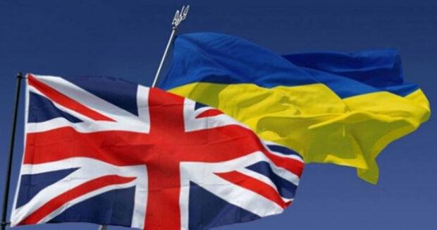ukr brit flags