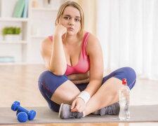 лишний вес, тренировки