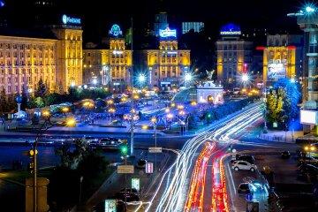 Киев-ночью