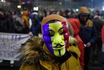 Румыния, протесты, коррупция