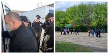 НП в українській школі: 7-класник штрикнув ножем однолітка, деталі і кадри з місця