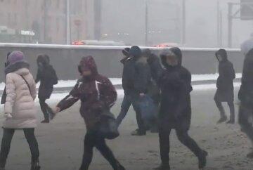 """Зима возвращается: украинцев предупредили о мощной погодной атаке, """"мокрый снег и..."""""""
