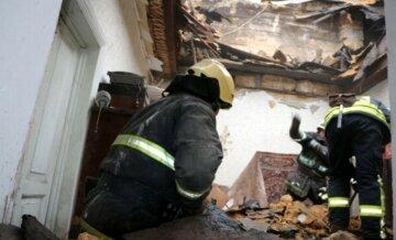 """В Одесі впав будинок біля моста, кадри НП: """"Люди за кілька хвилин до обвалення..."""""""
