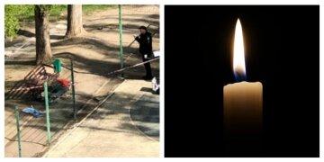 """Трагедія трапилася з чоловіком на вулиці, фото з місця: """"знайшли біля лавочки"""""""