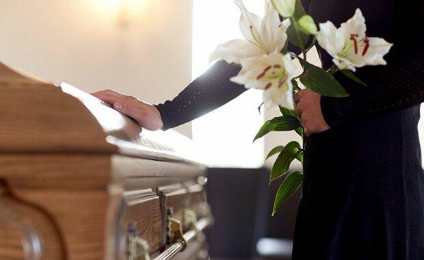 смерть, гроб