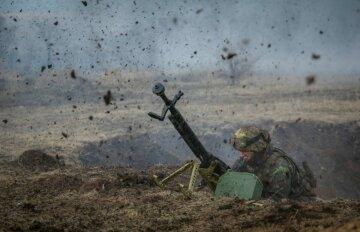 обстрел, АТО, Донбасс